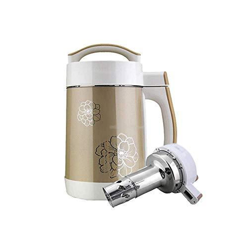 BGSFF Haushaltssaftpresse Mixer Sojabohnenmilchmaschine Filterfreie automatische Sojamilchmaschine Multifunktionale intelligente Entsaftungsmaschine