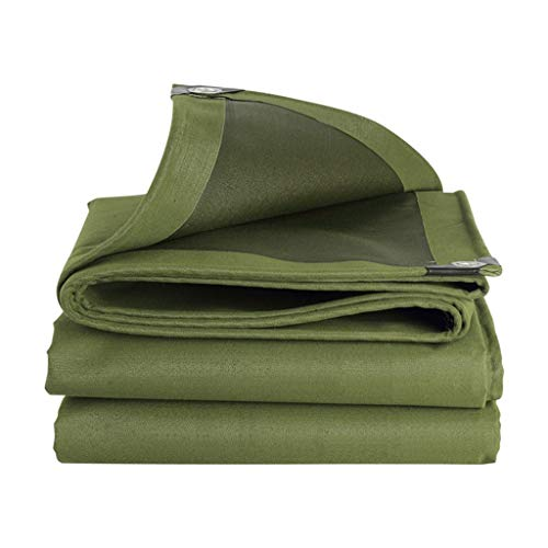 LLGDD Lona para exteriores, tela de plástico de aislamiento, protección solar, cubierta de tela de lluvia, para exteriores, múltiples (tamaño: 8 m x 10 m)