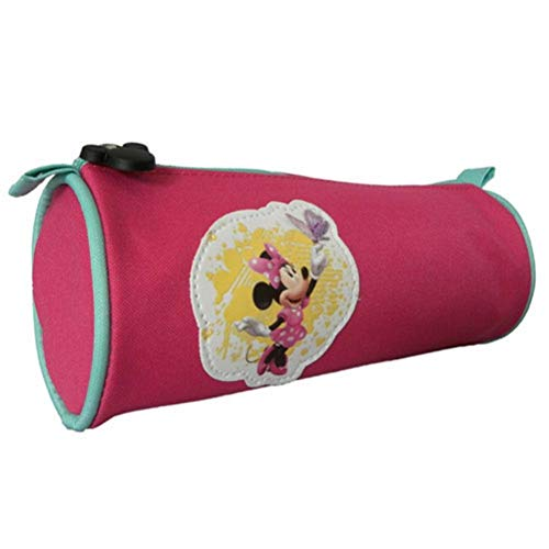 Trousse ronde Minnie rose