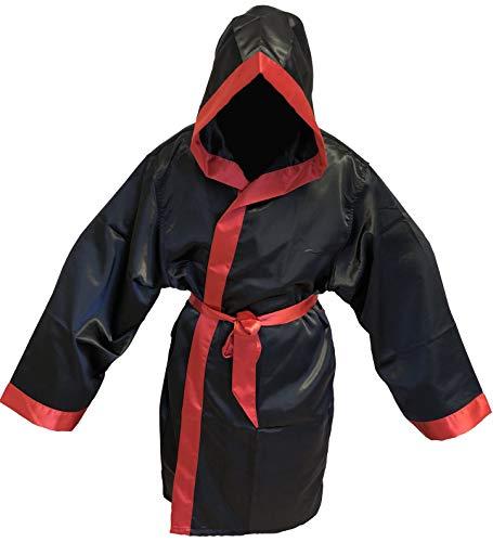 Budodrake Boxmantel schwarz-rot