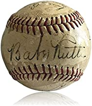 Wow Strong Babe Ruth Autographed Signed Memorabilia Pride Of The Yankees Baseball 11 Cast Members JSA