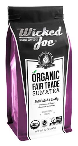 Wicked Joe Coffee Sumatra Ground, 12 oz