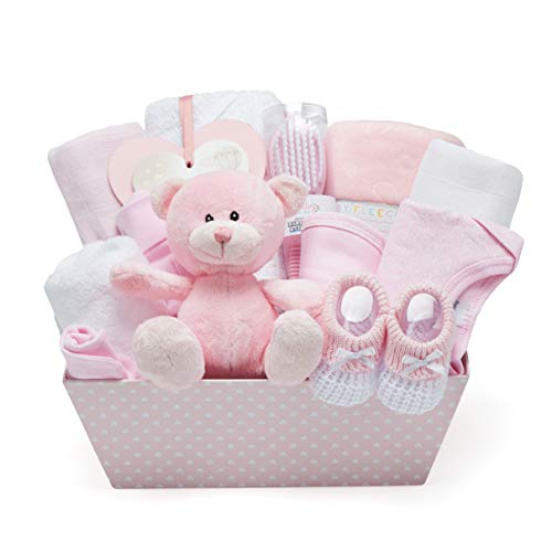 Cesta Regalo Nascita e Baby Shower per Neonati in...