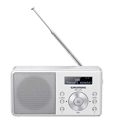 Grundig Music 6000 DAB+ Portables Radio weiß