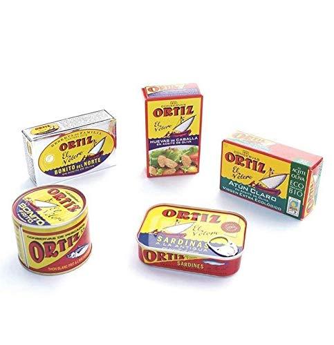 Pack Conservas Gourmet Pack, sardinas, bonito del norte, huevas de