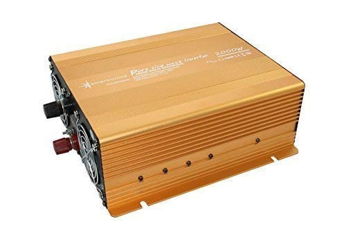 Spannungswandler 24V 2000 4000 Watt reiner SINUS Power USB 2.1A Gold Edition