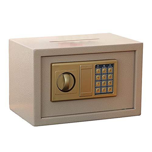 Cassetta di Sicurezza Box Acciaio cassaforte for la casa e Cabinet Office cassaforte tastiera caricamento frontale sicuro Cash Vault goccia di blocco for i gioielli di denaro oggetti di valore per Gio