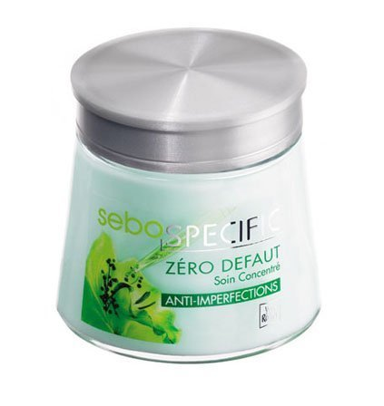 Sebo Specific - Zero Blemish Pore Refining Care..Smooth, flawless skin. Matte complexion....