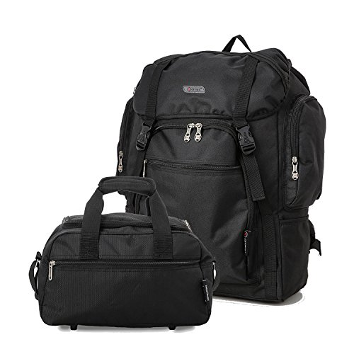 5 Cities Ryanair Maximum Cabin Allowance 55X40X20Cm Backpack + 2nd Tasche 35X20X20Cm