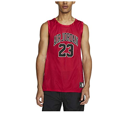 Nike Jordan DNA Distorted Men's Red/Black Basketball Jersey CZ2499 687 (l)