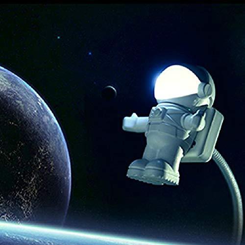 XUYIZU Astronaut Galaxy Night Light, New Night Light Projector Led Lamp, USB Astronaut Nightlight Creative Energy-Saving Practical LED Light