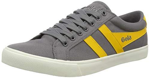 Gola Herren Varsity Sneaker, Ash/Sun, 43 EU