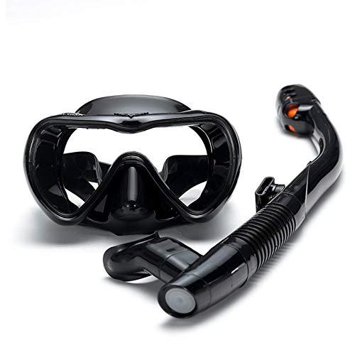 LORIEL Set de Snorkel Adulto, máscara de Buceo Gafas de natación, Snorkel Anti-Niebla Gafas Gafas Conjunto Silicona Natación Pesca Equipo de Snorkeling