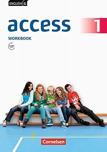 English G Access Workbook, Teil 1 (Workbook mit Audios online) (English G Access / Allgemeine Ausgabe)
