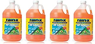RainX 5061320 Windshield Washer Fluid 1 Gallon (4 Pack)
