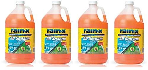 RainX 5061320 Windshield Washer Fluid 1 Gallon (4 Pack)