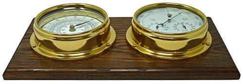 Barómetro latón higrómetro Integrado termómetro