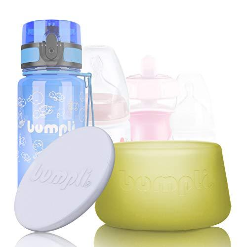 """bumpli ® Flaschenlicht für jede Baby & Kinder Flasche - mit 2 Dimmstufen - Bekannt aus """"DAS DING DES JAHRES"""" - Innovatives Nachtlicht mit Akku und Timer"""