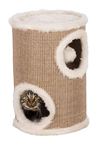Trixie 4331 Cat Tower Edoardo, 50 cm, taupe/creme