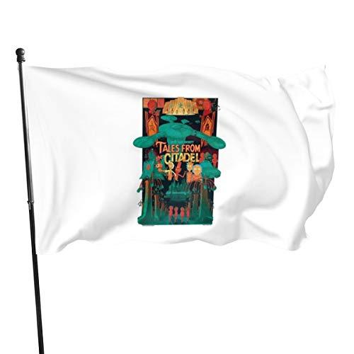 N/ Tales From The Citadel - Banderas de bandera, 3 x 5 pies