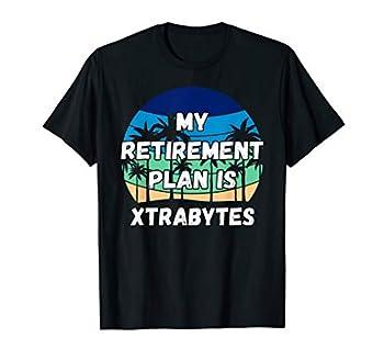 Xtrabytes Crypto My Retirement Plan is Xtrabytes T-Shirt