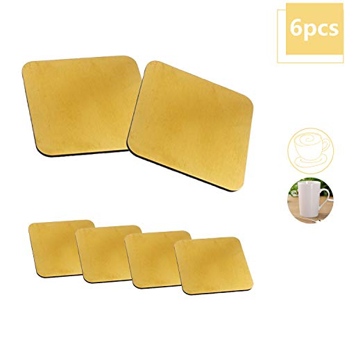 Home Bar and Kitchen Restaurant Cafe Supplies Cork Drink Coasters Dont Fuck Up The Table Please 1//8 Thick 8 Pack Reusable Absorbent Eco-friendly