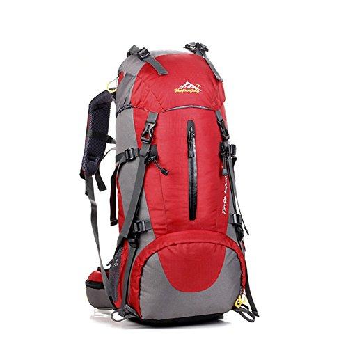 MYMM Mochila de 50/80L, Ideal para Deportes al Aire Libre, Senderismo, Trekking, Camping...
