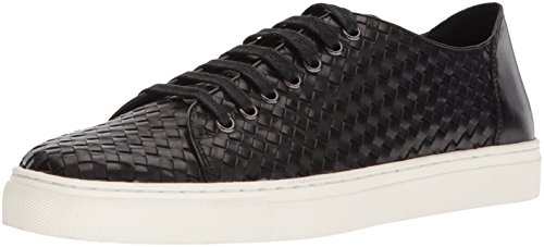 Donald J Pliner Men's Alto Sneaker, Black, 9 Medium US