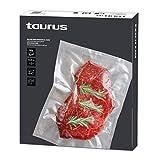 Taurus 999259000 - Pack de bolsas para envasar al vacío 30x35 cm, 50 unidades, Sous-vide, para la conservación de alimentos