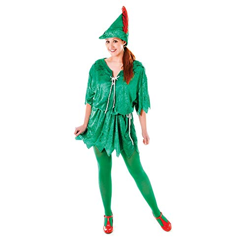 Peter Pan Fancy Dress kostuum voor volwassenen