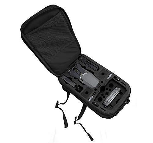 TomCase Profi Rucksack für DJI Mavic 2 Pro/Zoom oder Enterprise mit Platz für Fly More Kit und viel Zubehör   Kompakter Outdoor Backpack 254004101 Schwarz/Schwarz Small