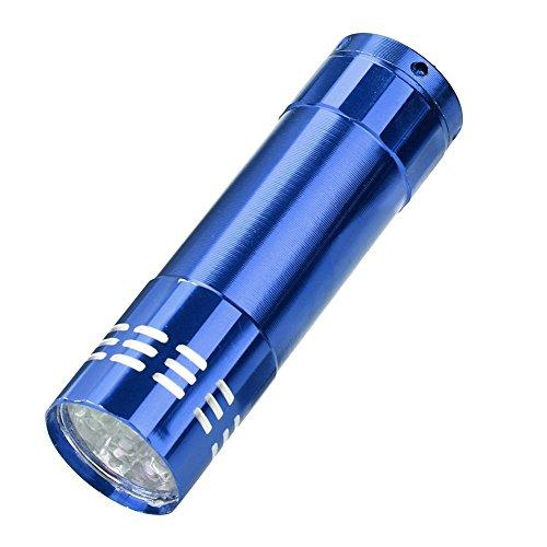 P12cheng Linterna LED, linterna de mano, mini linterna portátil de aluminio multifunción...