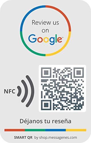 1 x Google Aufkleber (QR/NFC) |...