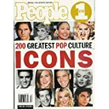 People Magazine 200 Greatest Pop Culture ICONS (Special Collector's Edition)