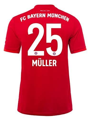 FC Bayern München Kinder Trikot Home 2019/20, Thomas Müller, Größe 176
