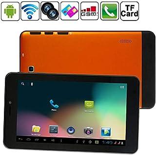 YINUO 7.0 inch Android 4.0.4 Tablet PC, Dual SIM(Orange) etc (Color : Orange)