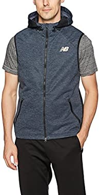 New Balance Men's Pocketed Fantom Force Fleece Vest