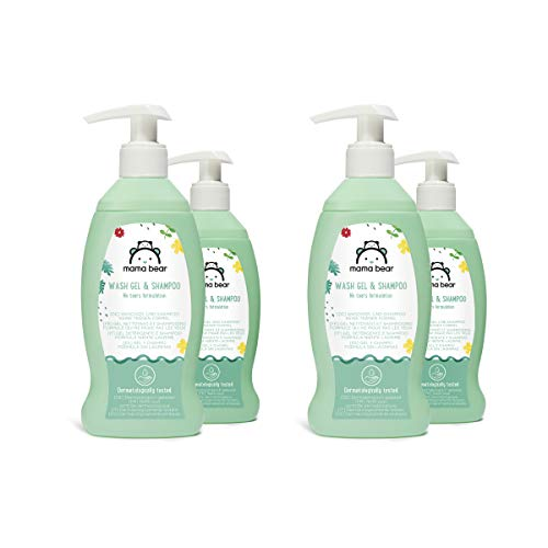 Amazon Brand Mama Bear  Baby Wash gel & Shampoo  (No Tears...