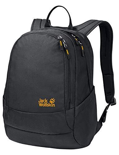 Jack Wolfskin Perfect Day, bequemer Rucksack mit breiten Gurten, DIN-A4-tauglicher Tagesrucksack, Backpack mit guter Lastenverteilung für Alltag und Freizeit, phantom, ONE SIZE
