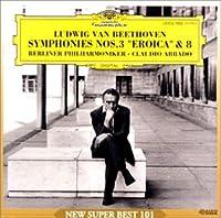 ベートーヴェン:交響曲第3&8番