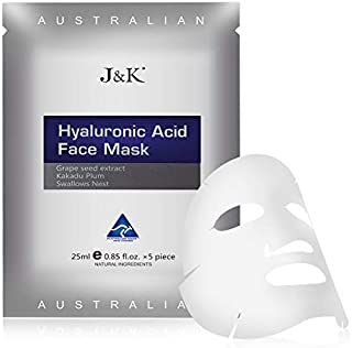 J&K Hyaluronic Acid Face Mask - Grape Seed Extract