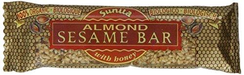 (Pack of 24) Sunita - Org Almond Sesame Bar 30 g