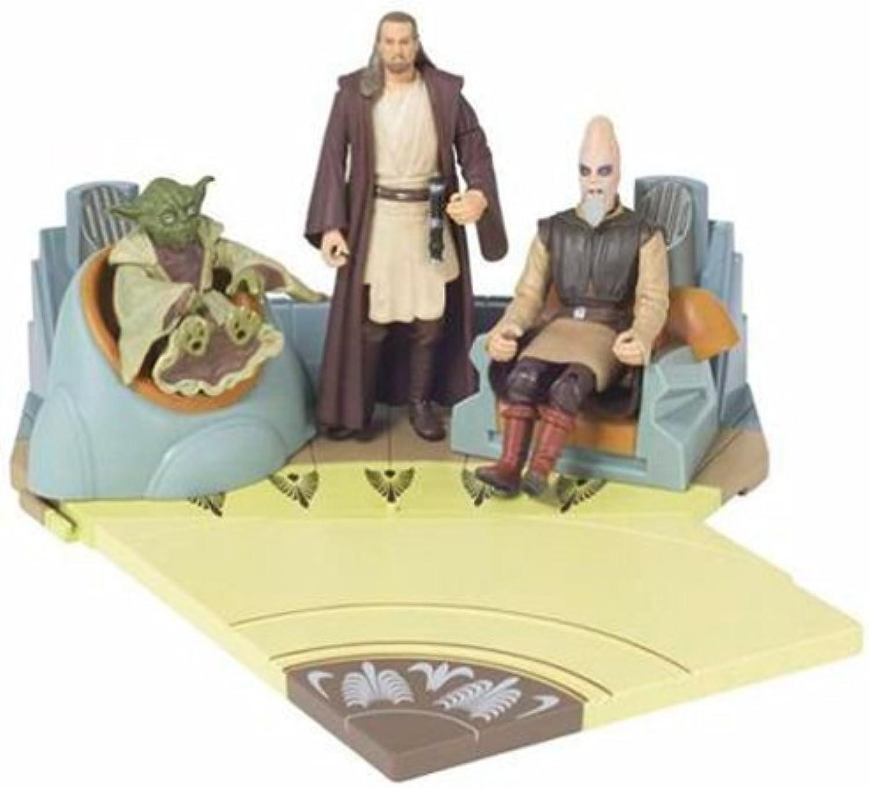 Mercancía de alta calidad y servicio conveniente y honesto. Estrella WARS Juego de 3 Figuras Jedi, Jedi, Jedi, Yoda, Qui-Gon Jinn y Ki-Adi Mundial (Escena 1, para la cámara)  barato