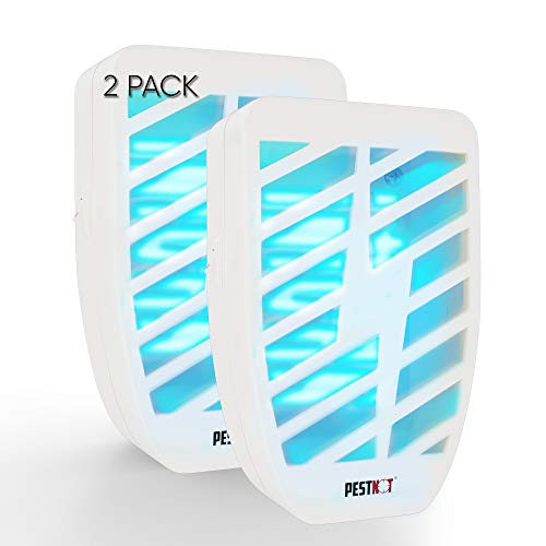 Pestnot Mosquito Eradicator – Electronic Bug Zapper for Indoor Plug-in; Mosquito, Moth, Fruit Fly, Flies and Gnat Trap with UV Light; Electric Insect Killer Lamp Better Than Insect Repellent