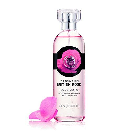 The Body Shop British Rose Eau De Toilette Perfume - 100ml