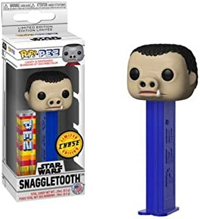 Pop! Pez Star Wars Snaggletooth Limited Chase Edjtion Candy and Dispenser