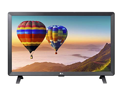 LG 28TL520V Monitor TV 28  HD Ready, 1366x768, Audio Stereo 10W, Digitale Terrestre T2 HEVC, Tivùsat HD, HDMI, USB, Nero