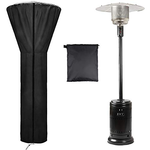 ACOOLOO Patio Heater Cover Waterproof Upgraded Oxford Fabric with Zipper and Storage Bag,Has Dustproof,UV-Resistant,Wind-Resistant,Features 89'' x 34' x 19' 36 Months of use