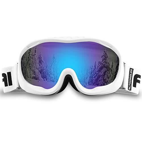 ALKAI Alta Ski Goggles, Snowboard Goggles Anti-Fog, 100% UV Protection, Double - Layer Spherical...
