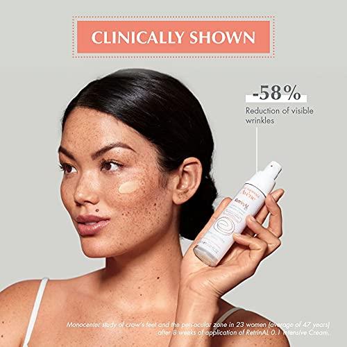 Eau Thermale Avene RetrinAL 0.1 Intensive Cream, Retinaldehyde, Reduce Signs of Aging, Brighten & Rejuvenate Skin, 1.01 oz.